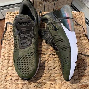 Men's Nike Air Max 270 Army Green 9.5